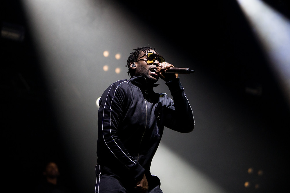 Tinie Tempah closing the festival