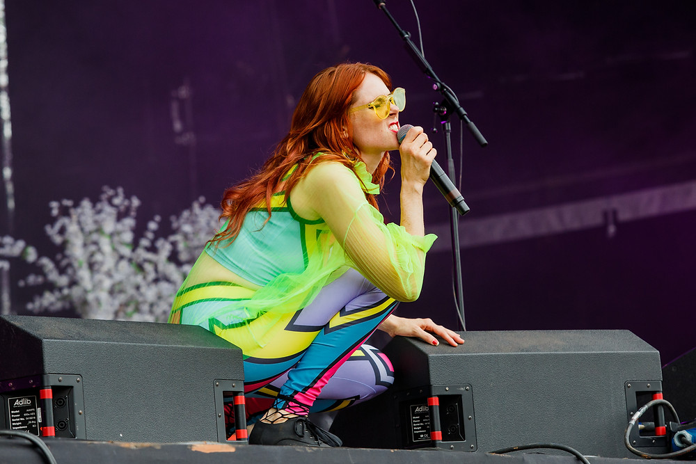 Kate Nash on the main stage