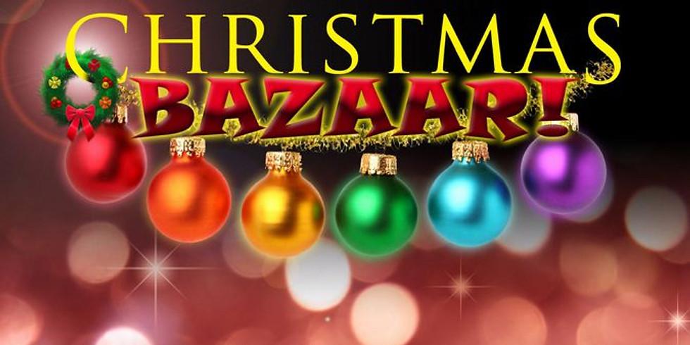 Setup for Christmas Bazaar