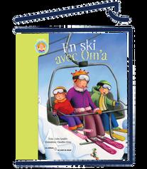 En ski avec Om'a