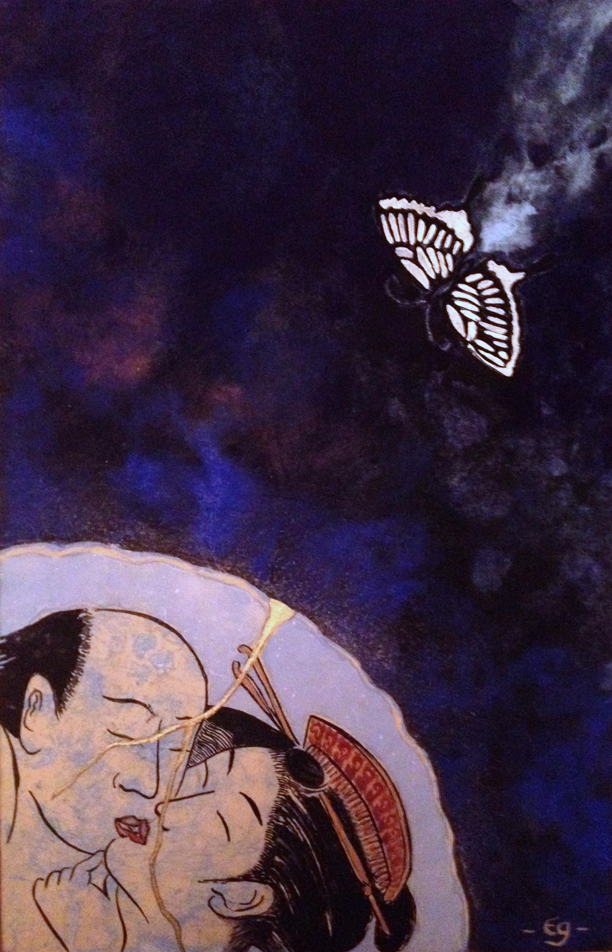 Kintsugi d'un baiser