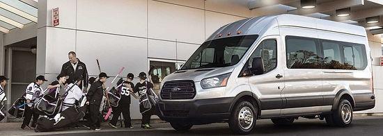 Ford Transit with kids sports team.jpg