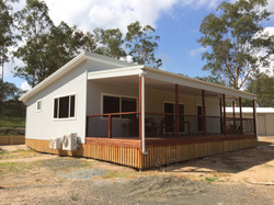 100m2 granny flat with 30m2 deck