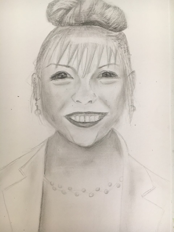 Hayun Y7 - Teacher Portrait (Miss Dean)