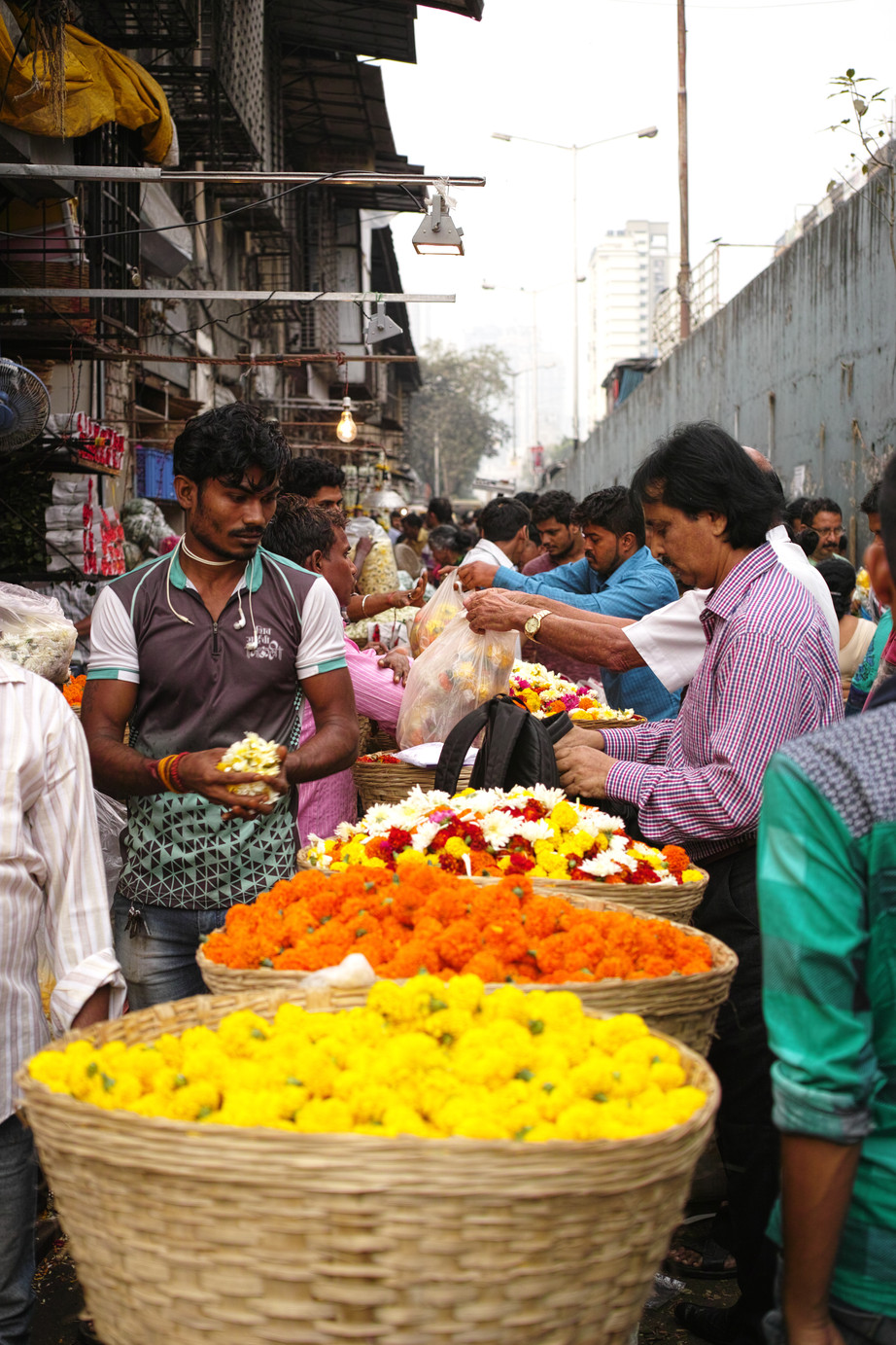 Dadar Flower Market Mumbai, India, published in Tank Winter Travel Issue