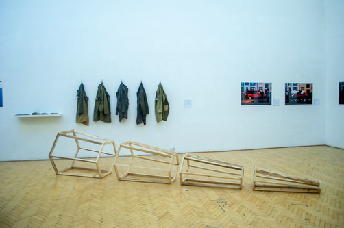 Exhibition (after performance), HUFA, Budapest