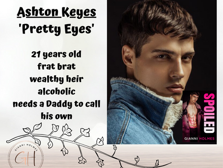 First Impressions of Ashton Keyes from Spoiled Perfection