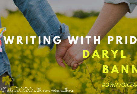 Daryl Banner is Writing with Pride