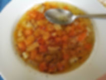 Soup diet... making a change from the holiday feed...jpg