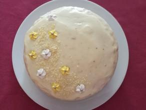 Chai Vanilla and Banana Custard Buttercream Cake