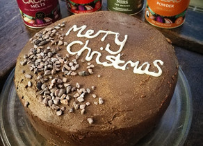 Alternative Christmas Cake.