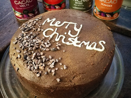 Alternative Christmas Cake.