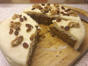 California Raisins GF Vegan Carrot Cake