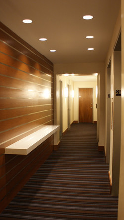 West 93rd Street hallways