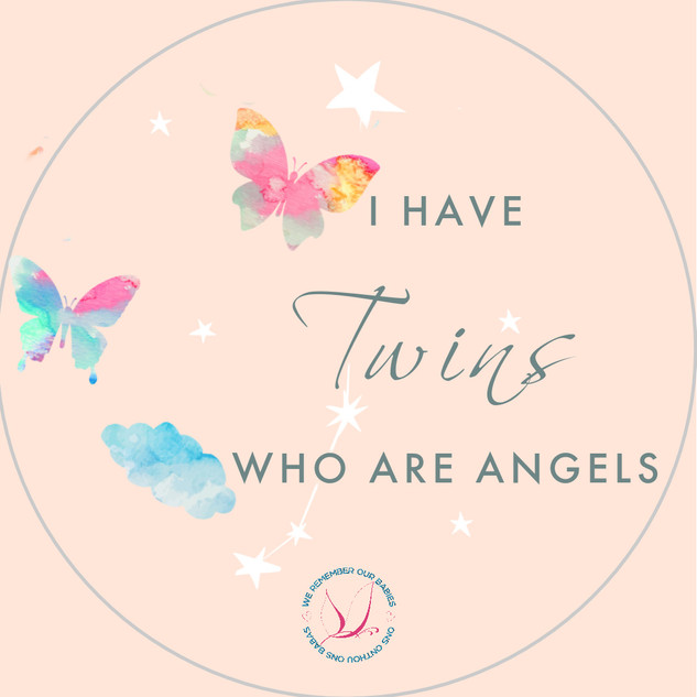 I have twins who are angels