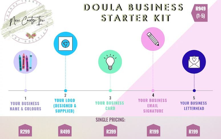 Doula Business Starter Kit Ad with price