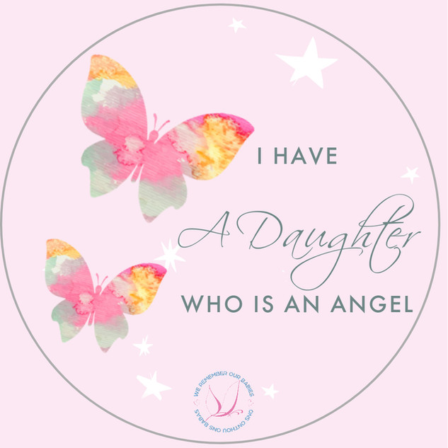 I have a daughter who is an angel