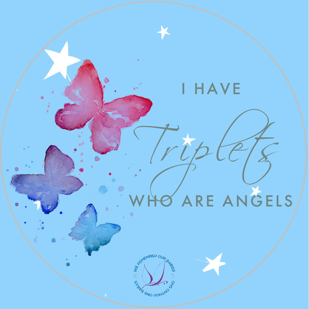 I have triplets who are angels
