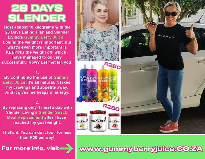 Gummy Berry Juice