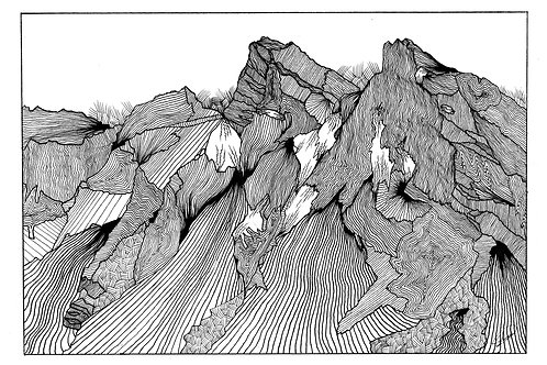 12x18 Mountain 1 Print