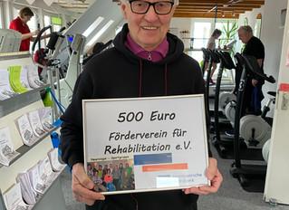 Volksbank unterstützt Neurologiegruppe des FfR e. V.