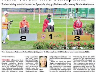 Leine Zeitung 22.08.2013