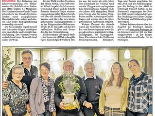 Leine Zeitung 16.02.2013