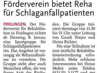 Leine Zeitung 12.12.2012