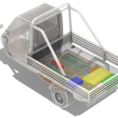 New green Hydrogen Fuel Cell powertrain concept for lightweight transportation vehicles