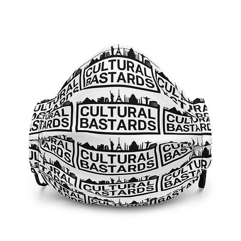 Cultural Bastards Premium face mask