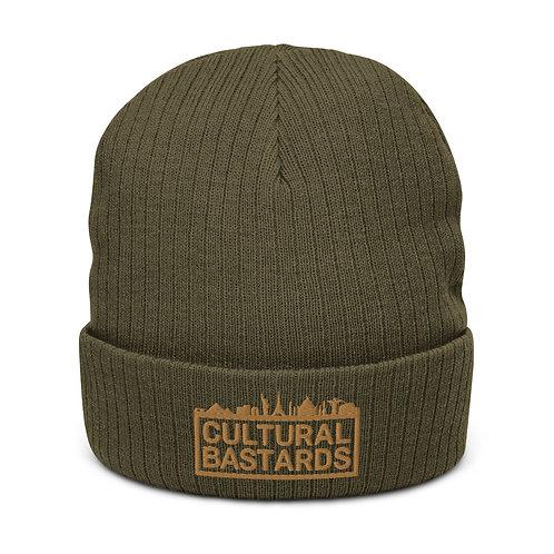 Cultural Bastards Recycled cuffed beanie