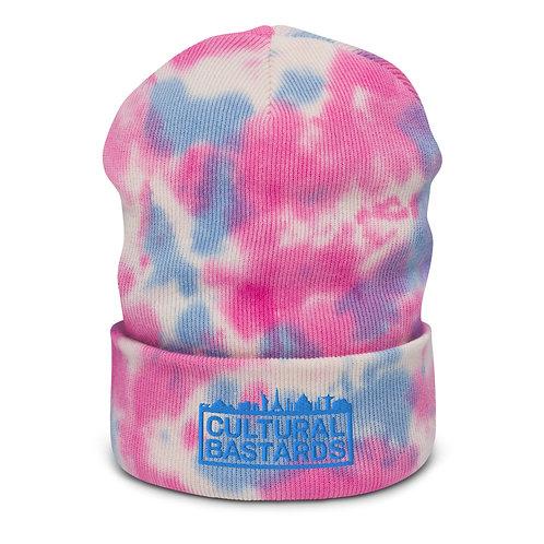 Cultural Bastards Pink/Blue Tie-dye beanie