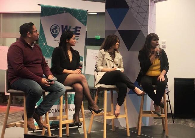 Speaking at Women's Econocmic Empowerment Forum