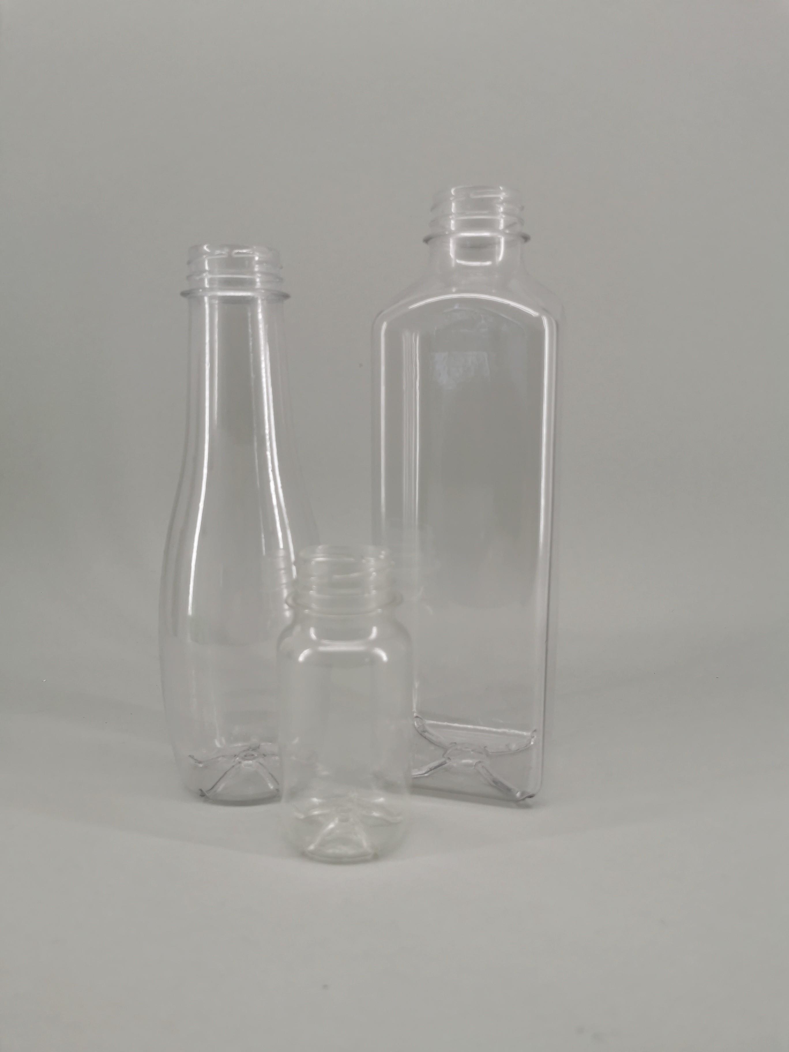 Transparente 3D Druck Flaschen