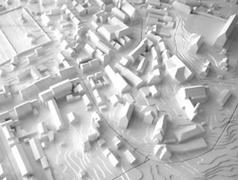 3D Druck, Stadtmodelle, Wettbewerbsmodelle, Massenmodelle, Einsatzmodelle