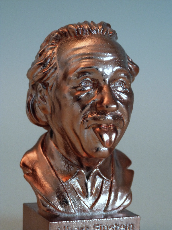 Bronze-Büste