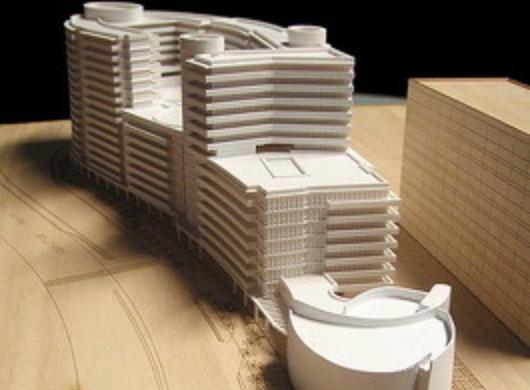 Architektur-Modell