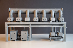 Stahlentgasungs-Anlage