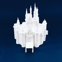 Modellbau Märchenschloss