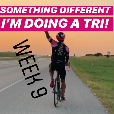 I'M DOING A TRI | 9-WEEKS OUT