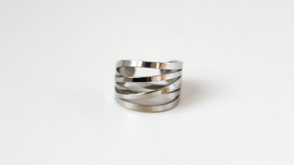 Bague multi anneaux