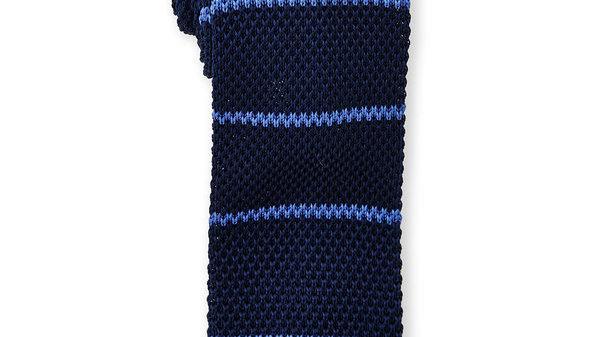 BURMA BIBAS Cravate tricot rayée