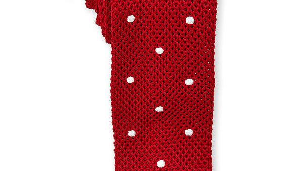 BURMA BIBAS Cravate tricot à pois