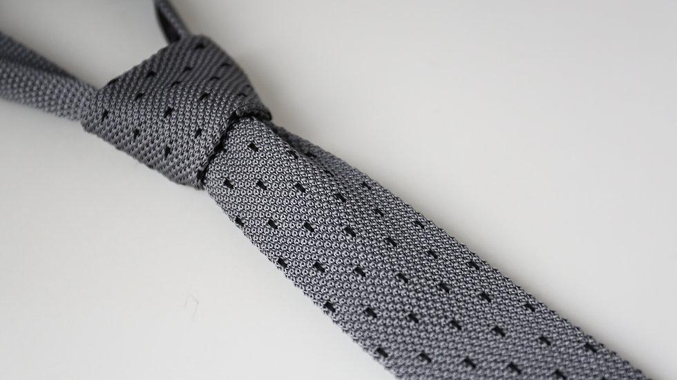 Cravate tricot à pois