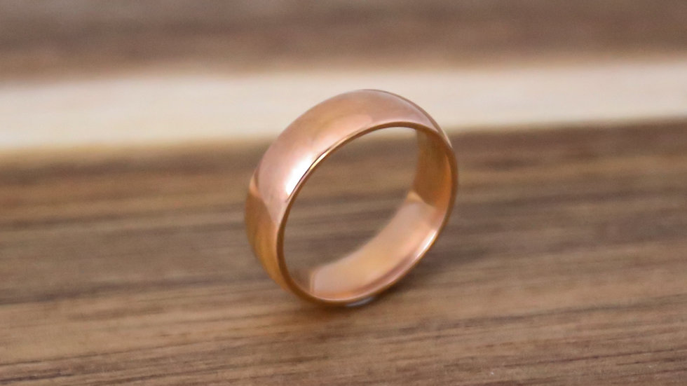 Bague anneau lisse