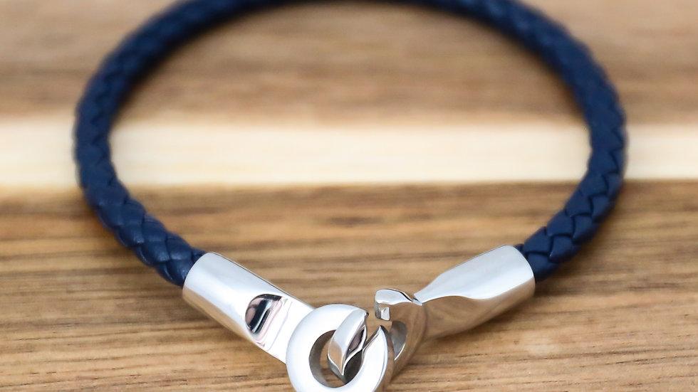 Bracelet cuir avec menottes