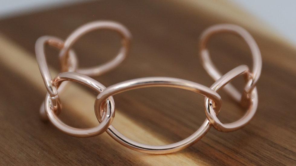 Bracelet grandes mailles