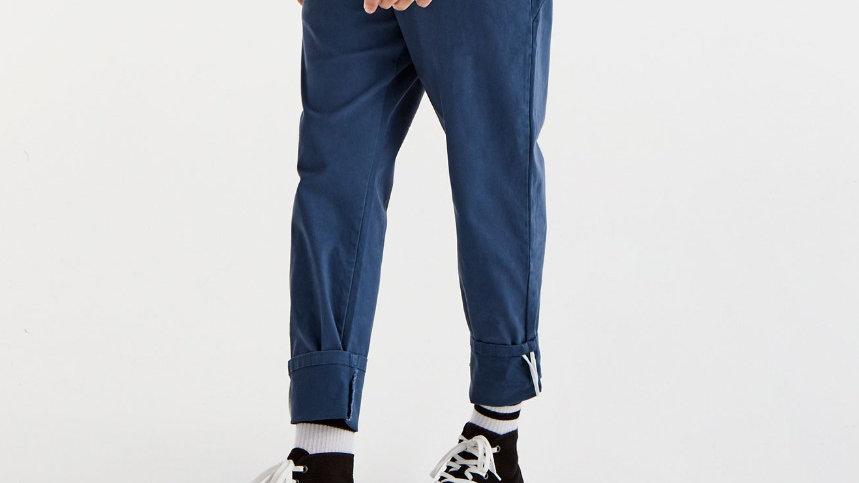 Pantalon style chino cropped