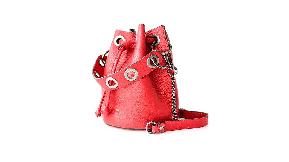 Mini sac Fourre-Tout en cuir Fermoir Doré Abidjan