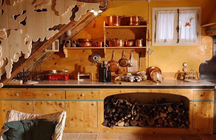 Maso di Villa - Particolare Cucina